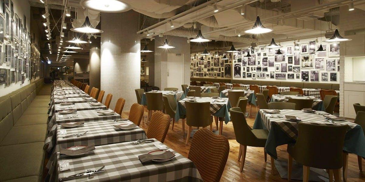 記念日におすすめのレストラン・TRATTORIA AL POMPIEREの写真1