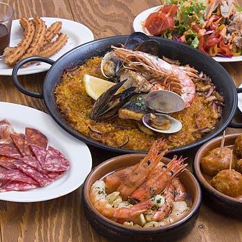 706da1b19c5 ANCLAR 【1ドリンク付】本格スペイン料理タパスや人気のパエリアに加えお ...