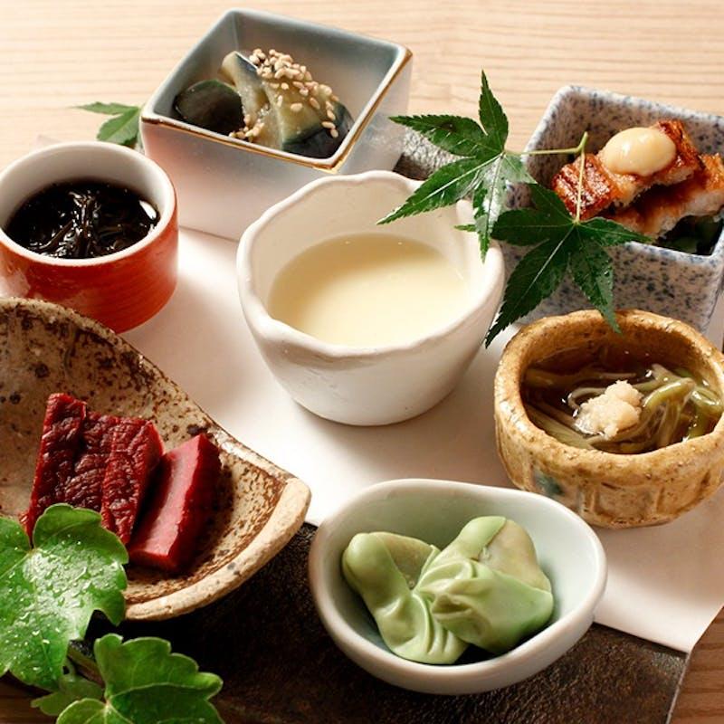 【季節のお任せコース】前菜、お造り、小鍋or温物など全7品(2名~個室選択可)