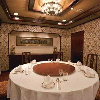 こだわりの空間で、揚州料理の神髄を