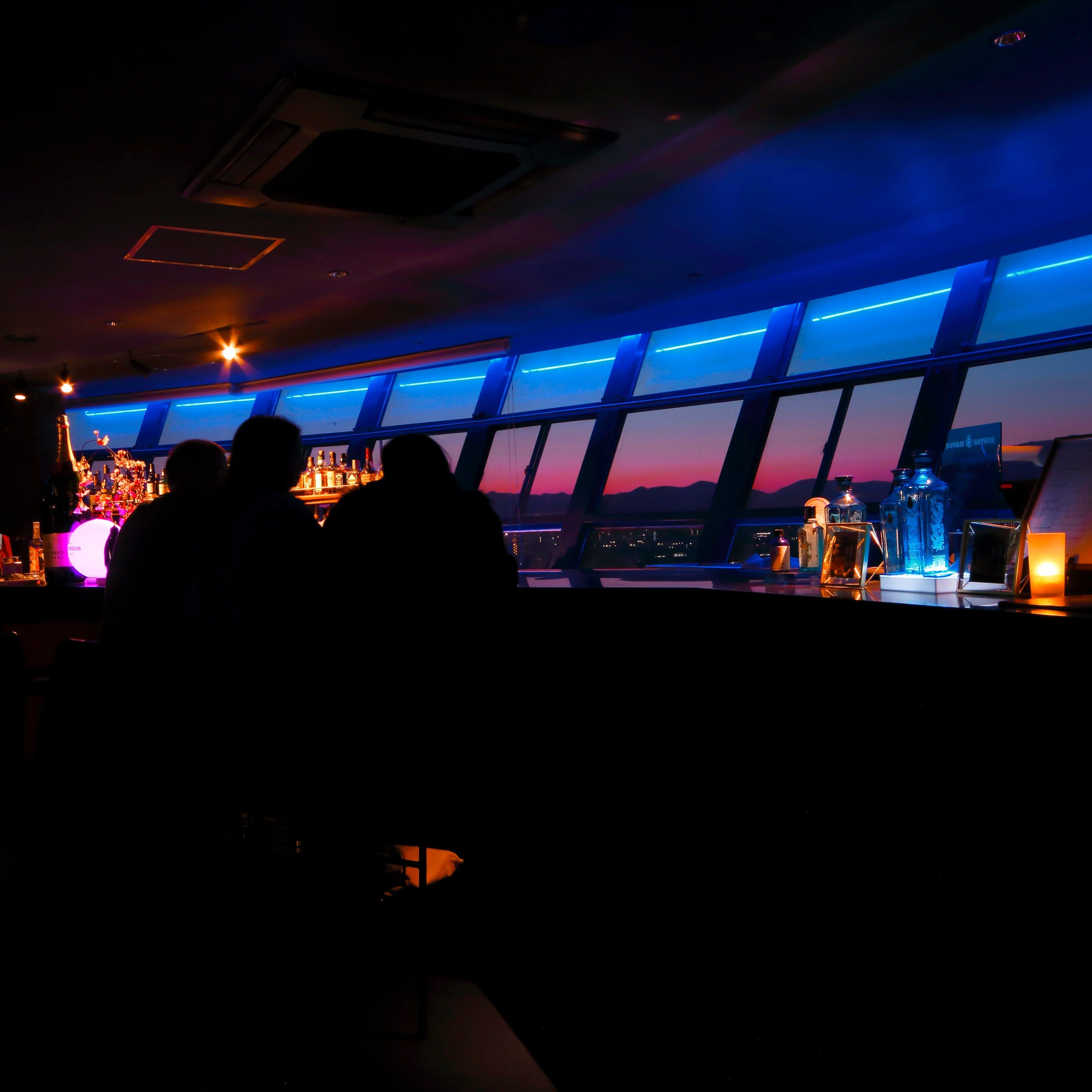 地上45メートルの夜景に酔いしれる大人の空間
