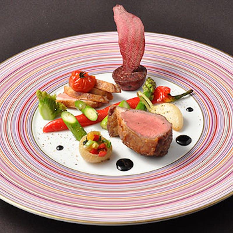 【シェフにおまかせ】季節の食材やその日おすすめの厳選食材を使用+乾杯スパークリング