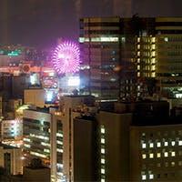 札幌の宝石箱のような夜景を楽しみながら、日常を忘れおしゃれなひとときを