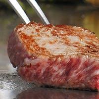 和牛に魚介 厳選された最高の食材を目の前で焼き上げる