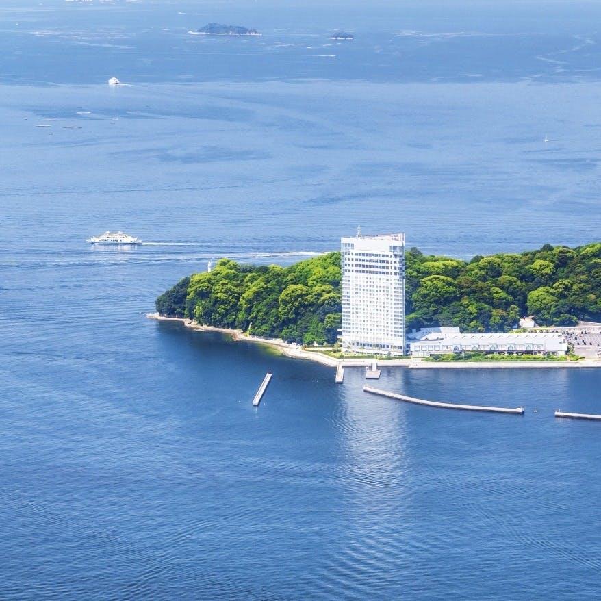 瀬戸内海と広島市内を一望できる360度の大パノラマ