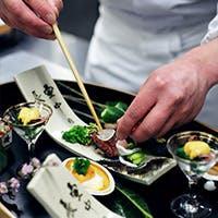 一品一品丁寧に作り上げた京料理、五感が研ぎ澄まされるような美食