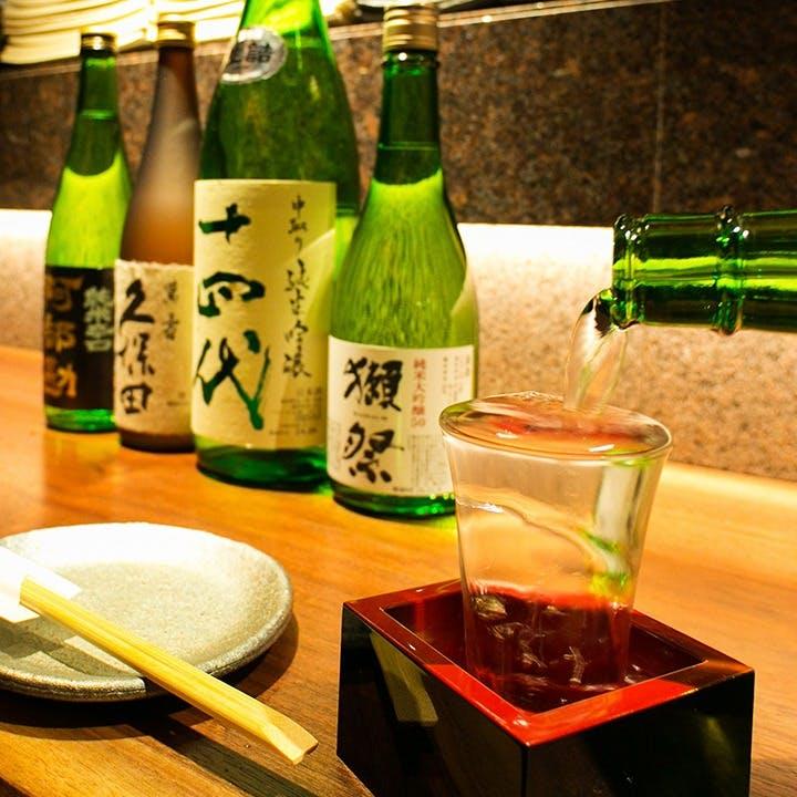 日本酒・ワインとのマリアージュを愉しんで