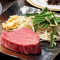新潟郷土料理と村上牛の鉄板焼き