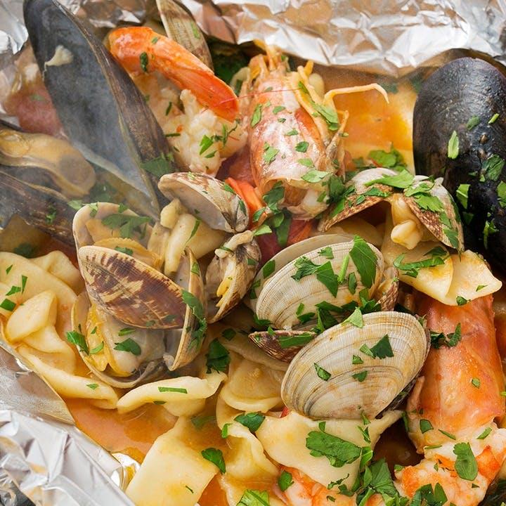 ここでしか味わえない南イタリアの伝統料理が盛りだくさん