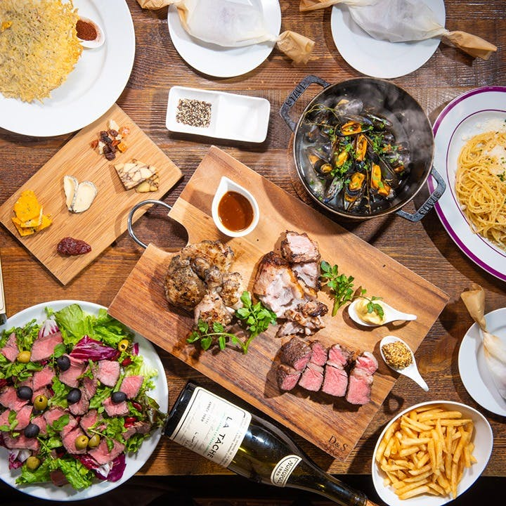 中目黒、ビストロ、大人、炭火、熟成肉、塊肉、そしてワイン