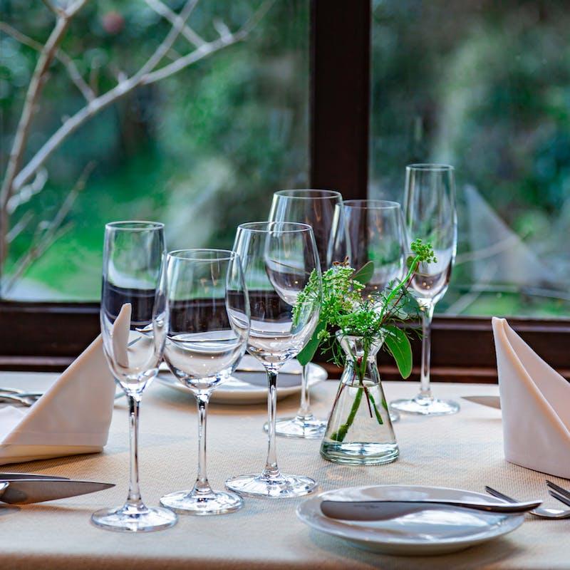 【ワインペアリングランチ】前菜とWメイン 全8品