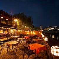 鴨川を眺める絶景の場所-京風情溢れる町家でチャイニーズをビストロ気分でお気軽に