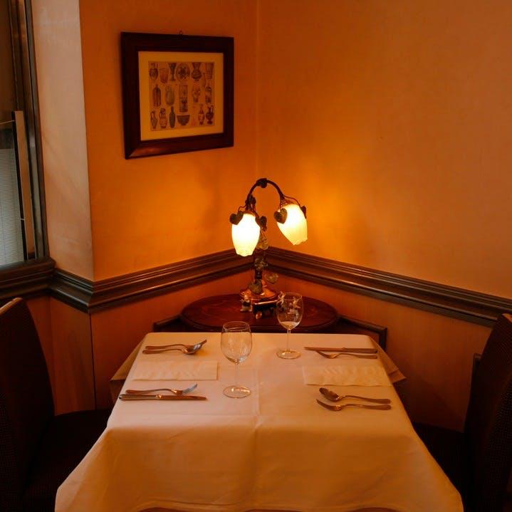落ち着いた雰囲気のイタリアンレストラン