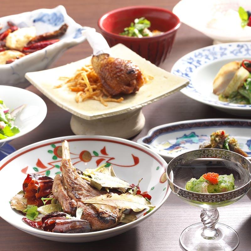 【沙龍的昼宴(ランチコース)】北京ダック、酢豚、麻婆豆腐など(特別価格)