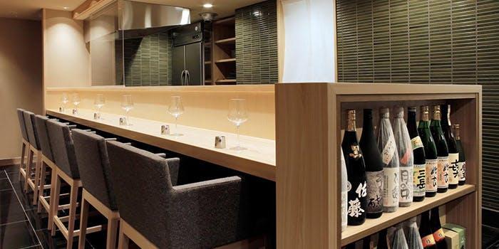 記念日におすすめのレストラン・くずし割烹 天ぷら竹の庵 東銀座店の写真1