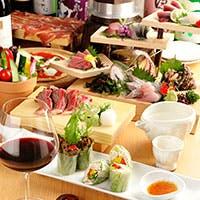 鮮魚は全て天然 京都牛A5ランク、丹波鶏など地元食材がズラリ