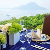 瀬戸内海と元宇品公園の重なる情景は広島随一