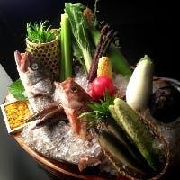 お品書きのない特別なコース料理とこだわりの日本酒をどうぞ