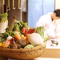 自家栽培お野菜を使用した、京都の美味・名産を気軽に味わえます
