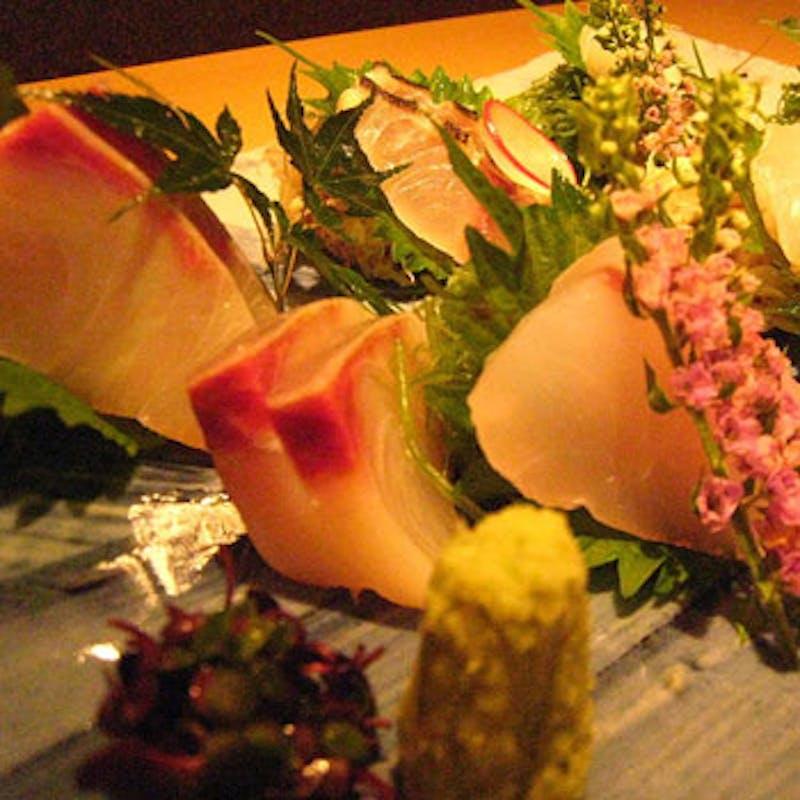 【おまかせコース】前菜3品・お刺身・煮物・揚物・肉料理・選べるご飯物 全8品