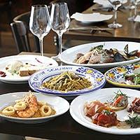 シチリアへ渡り本場のシチリア料理を体得したシェフが作る精鋭のシチリア料理