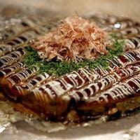 ふわふわお好み焼きと四季旬菜が味わえる鉄板焼き