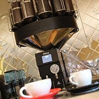 バリスタ厳選豆を使用した、こだわりのコーヒー