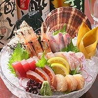 地魚にこだわり。合わせて飲みたい関西を中心に全国の地酒を20種以上ご用意