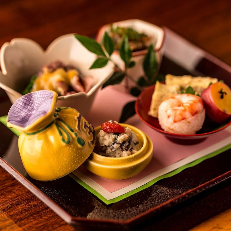 【雅ーみやびー】神戸牛のお料理が入った会席全9品+1ドリンク