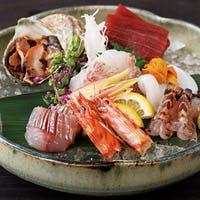 豊洲山治直送の魚介を使用したお料理