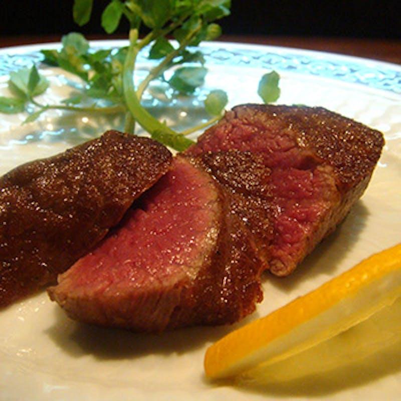 【おまかせコース】季節の前菜やお魚料理、ステーキ、デザート付!+選べる1ドリンク(全9品)