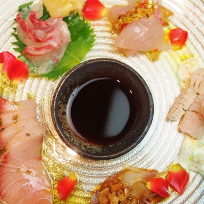 【ottoコース】淡路牛、カルパッチョ、デザートなど全7品