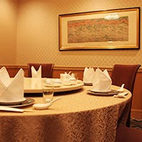 パレスホテル立川2階にある、シックで大人の雰囲気漂う店内