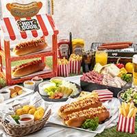 6月・9月の土日祝日はお昼も営業。POPなランチピクニックをお楽しみください。