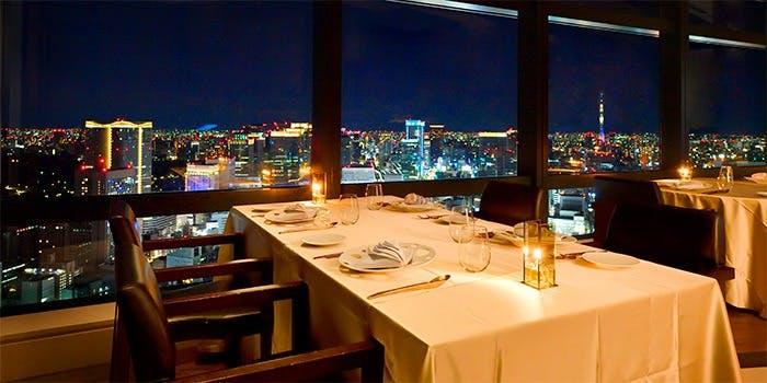 記念日におすすめのレストラン・Ar's Italian Cuisine/汐留シティーセンター41Fの写真2