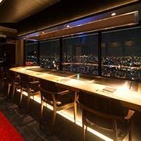 阪急グランドビル31階、駅近・絶景の本格ステーキハウス