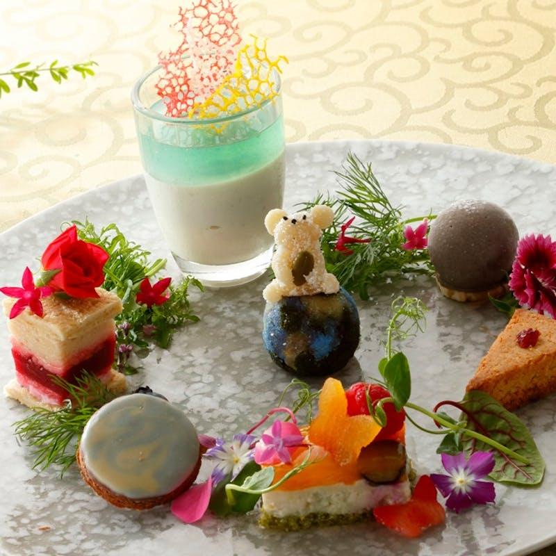 【プラントベースアフタヌーンティー】植物性食材を使用したメニュー