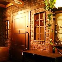 三宮駅から徒歩5分、レンガ造りの小さなレストラン