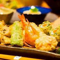 """食材が持つ本来の「旨み」「香り」「食感」を大切にしたこだわりの""""天ぷら"""""""