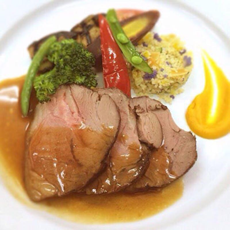 【一休限定コース】スープ・前菜・メインなどのプリフィクスランチ 食後のカフェ付(休日限定)