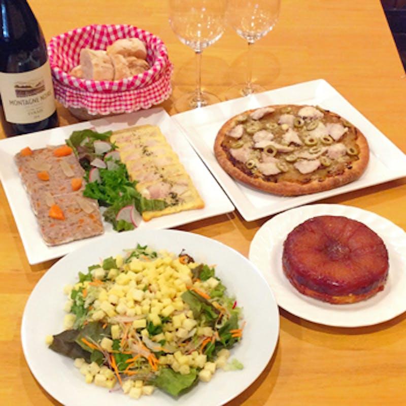 【パーティーコース】飲み放題付 肉&魚料理・デザート盛り合わせなど(3名様~)