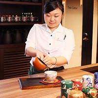 『日本茶』を『淹れる』『食す』をコンセプトにしたレストランです