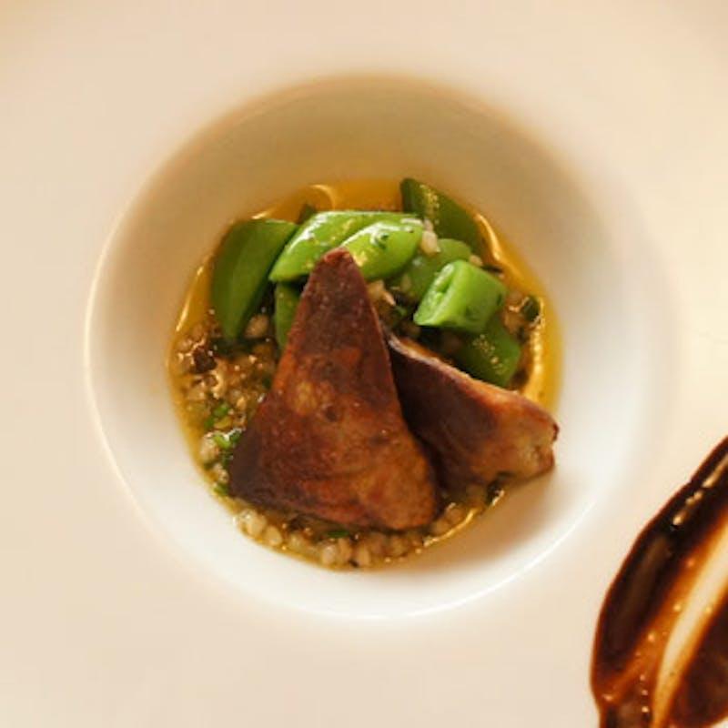 フォアグラ、フランス産鴨肉、魚料理、デザート8種など全8品+自家製カクテル(お顔合わせにも)