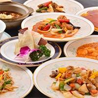 多彩な中国料理の数々。どれも腕によりをかけた一品です