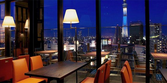 記念日におすすめのレストラン・R restaurant & bar/ザ・ゲートホテル雷門byHULIC 13階の写真2