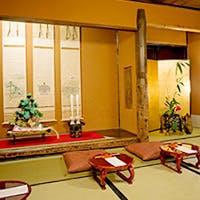 江戸時代当時の風情を感じる老舗の料亭です