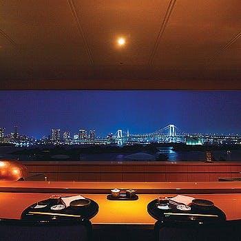 まるで絵のような東京湾の絶景