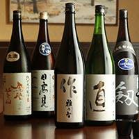 歴史のある美味しい日本酒もご用意しております