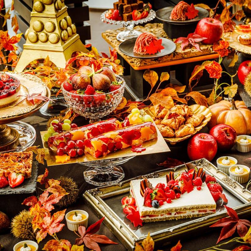 【秋の大秋穫祭ブッフェ】トリュフ,ポルチーニ,松茸,ローストビーフ,Pizza,Pasta,ドリンク(9/13~)