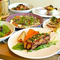 熟成肉と漁港直送シーフードのグリル料理